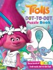 Trolls: Dot To Dot Puzzle Book