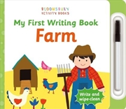 My First Writing Book Farm | Board Book