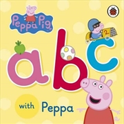 Peppa Pig: Abc With Peppa | Board Book