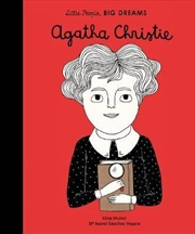 Agatha Christie (Little People, Big Dreams) | Hardback Book