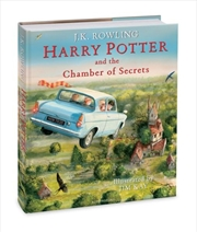 Harry Potter and the Chamber of Secrets - Illustrated Edition | Hardback Book