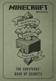 Minecraft: The Survivors' Book of Secrets | Hardback Book