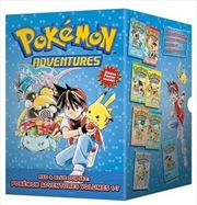Pokemon Adventures Red & Blue Boxset Vol 1- 7 | Hardback Book