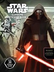 Star Wars Supreme Sticker and Activity Book | Hardback Book