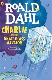 Charlie and the Great Glass Elevator (colour edition) | Paperback Book