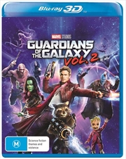 Guardians Of The Galaxy - Vol 2 | 3D Blu-ray