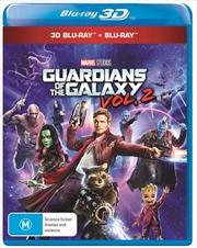 Guardians Of The Galaxy - Vol 2   3D + 2D Blu-ray