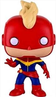 Captain Marvel Masked