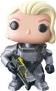 Female Power Armor Unmasked
