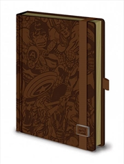Marvel Retro A5 Notebook