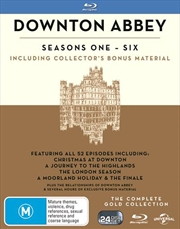 Downton Abbey Boxset - Season 1-6 Gold Edition (BONUS TEA TOWEL)