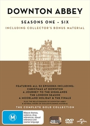 Downton Abbey Boxset - Seasons 1-6 Gold Edition (BONUS TEA TOWEL)