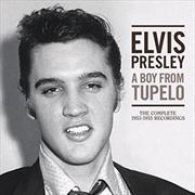 A Boy From Tupelo: Sun Masters   CD