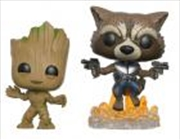 Groot And Rocket 2pk