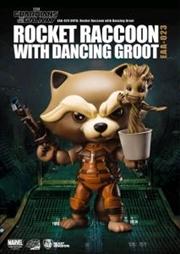 Rocket With Groot Figure