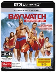 Baywatch - Extended Cut | Blu-ray + UHD + UV