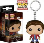 Supernatural - Sam Pocket Pop! Keychain