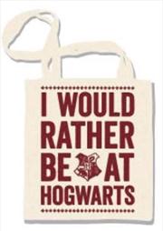 Hogwarts Slogan Tote Bag