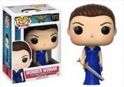 Wonder Woman Blue Dress Sword