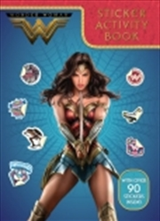 Wonder Woman Sticker Activity Book