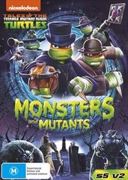 Teenage Mutant Ninja Turtles - Monsters And Mutants - Season 5 - Vol 2 | DVD