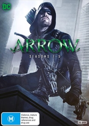 Arrow - Season 1-5 | Boxset