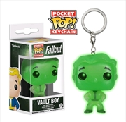 Vault Boy Glow Pop Keychain | Accessories
