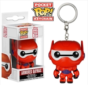 Armored Baymax Pop Keychain | Accessories