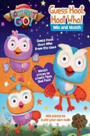 Guess Hoot Hoot Who Mix & Match | Board Book