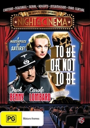 To Be Or Not To Be | Night At The Movies