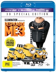 Despicable Me 3 | 3D + 2D Blu-ray + UV