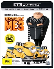 Despicable Me 3 | Blu-ray + UHD + UV