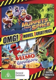 Adventures Of Elmo In Grouchland/Muppets From Space | DVD