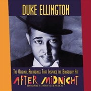 Original Recordings That Inspired The Broadway Hit After Midnight | CD