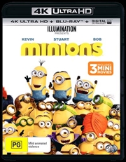 Minions | Blu-ray + UHD + UV