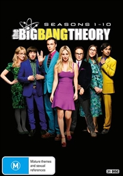 Big Bang Theory - Season 1-10 | Boxset, The