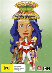 Captain Planet And The Planeteers Series Collection | DVD