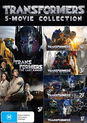 Transformers 5 Pack - Franchise Pack | DVD