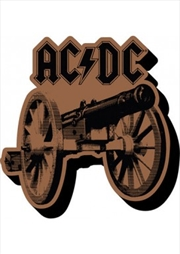 ACDC Cannon Chunky Magnet