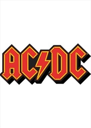 ACDC Logo Chunky Magnet