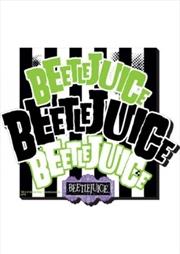 Beetlejuice Name 3 Chunky Magnet