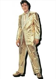 Elvis Gold Chunky Magnet