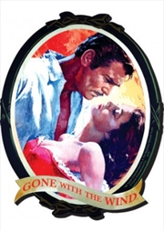 Gone With The Wind Portrait Chunky Magnet