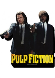 Pulp Fiction Duo Guns Chunky Magnet