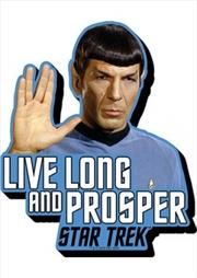Star Trek Spock Quote Chunky Magnet