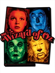 The Wizard Of Oz Squares Chunky Magnet