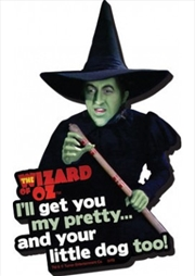 The Wizard Of Oz Witch Chunky Magnet