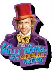 Willy Wonka Chunky Magnet