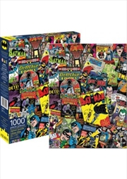 DC Comics Batman Retro Collage 1000pc Puzzle