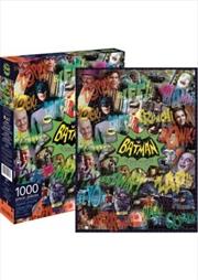 Batman Tv Collage Puzzle 1000 pieces